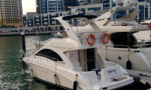 40ft yacht in Dubai Marina