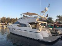 50ft Yacht in Marina