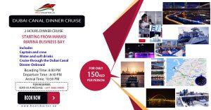 Dubai Canal Dinner Cruise 2018 @ Aboard Elmundo