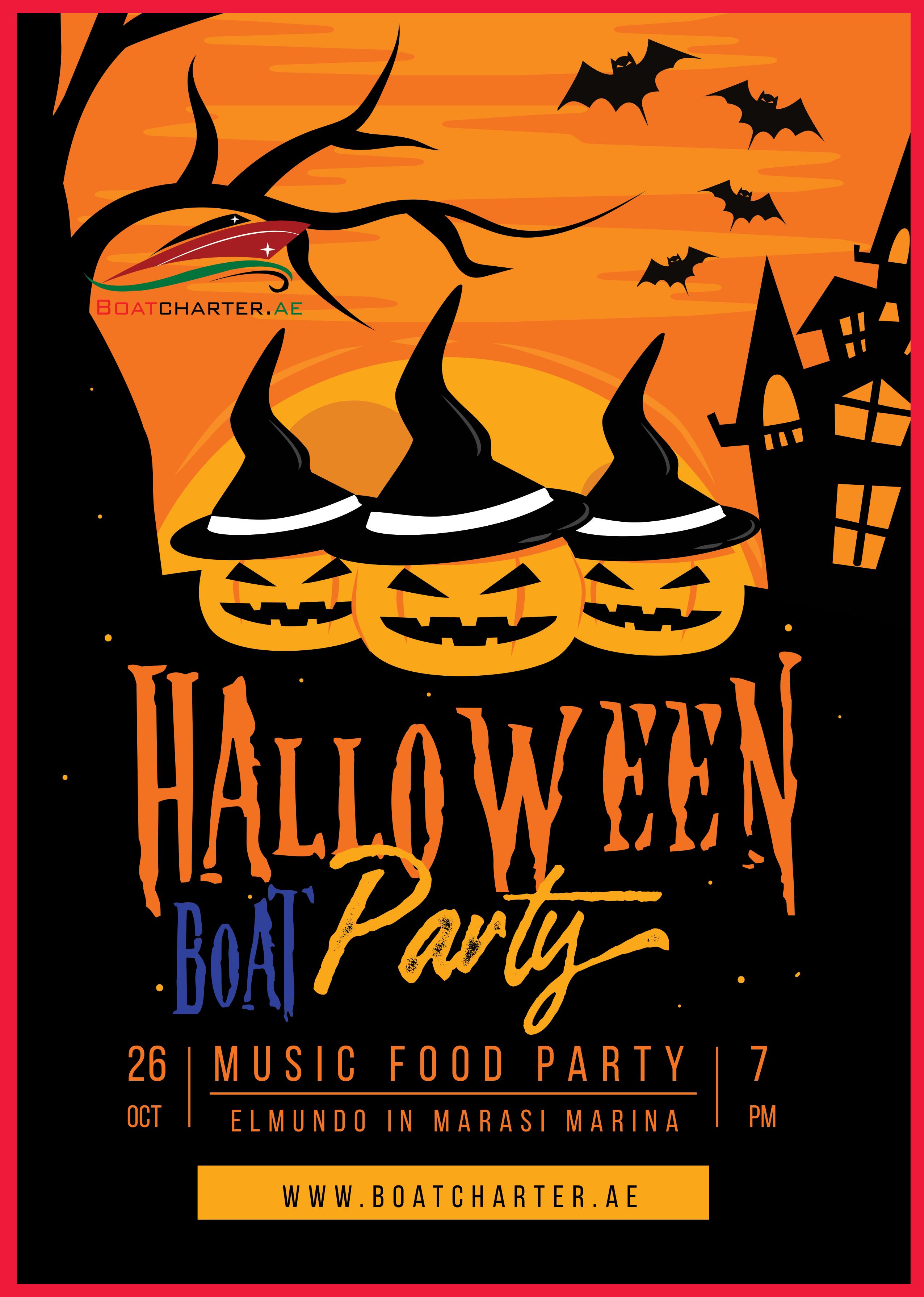 Halloween Boat Party @ Aboard Elmundo