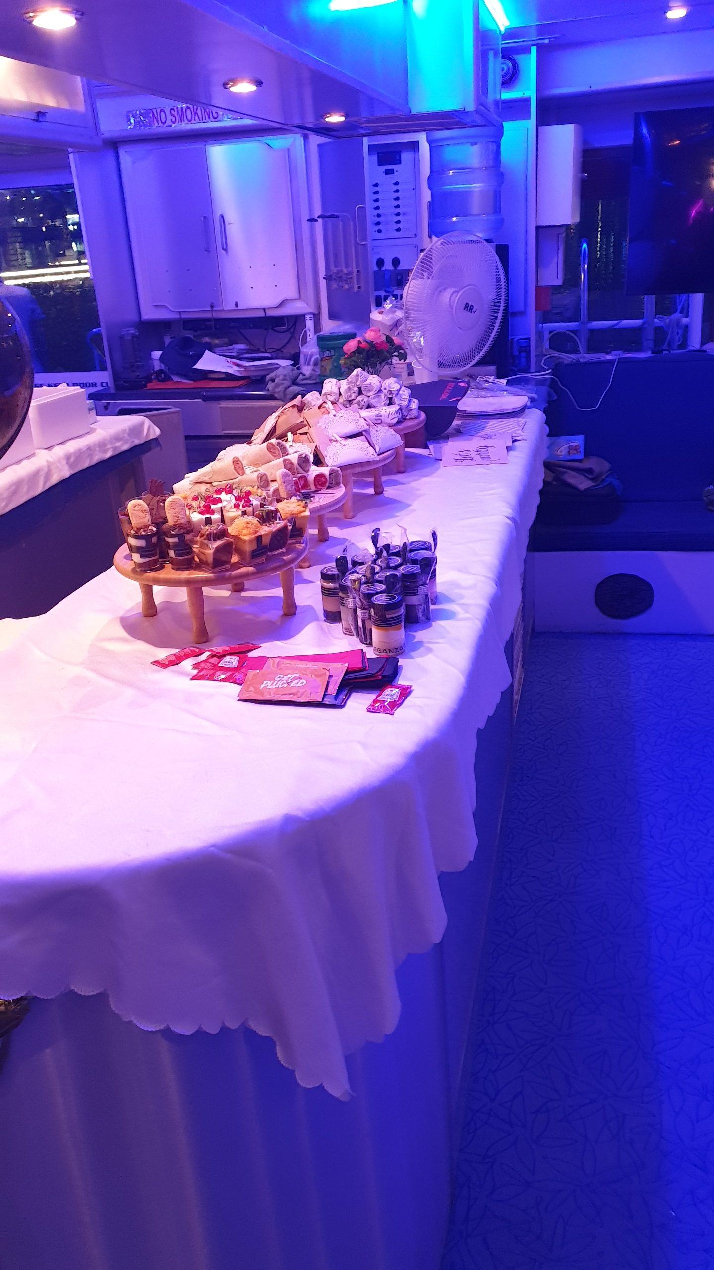 Yacht Catering in Dubai Buffet