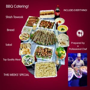 Yacht Catering in Dubai BBQ Special Offer