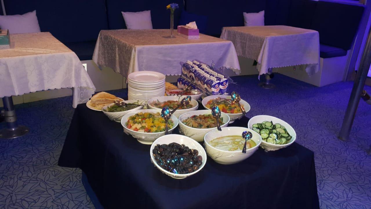 Buffet Boat Catering in Dubai Salad