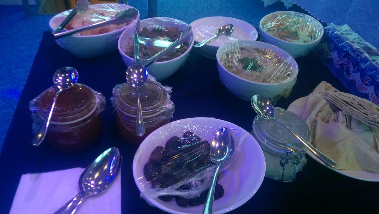 Buffet Boat Catering in Dubai Appetizers