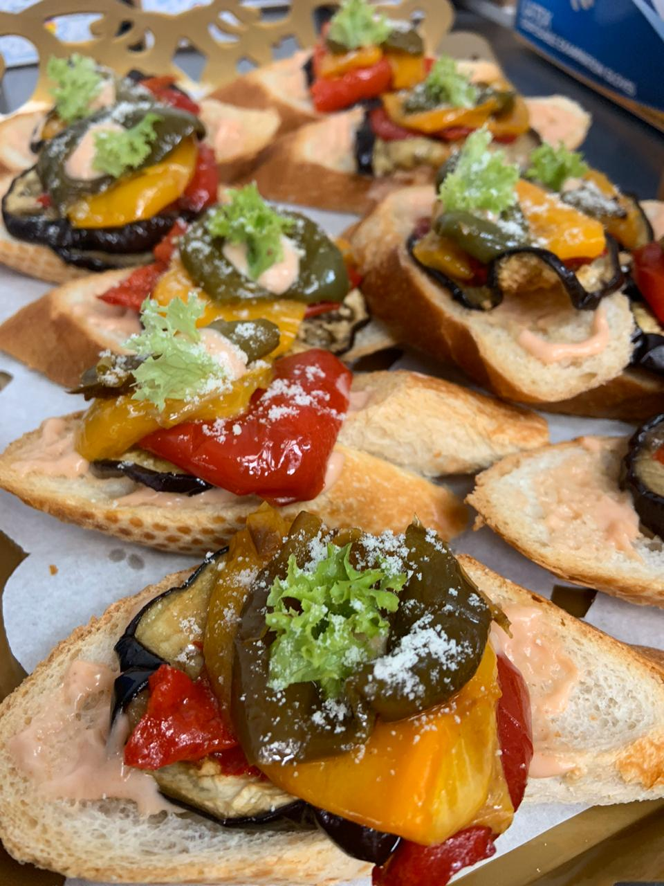 Yacht Catering in Dubai - Appetizers 1