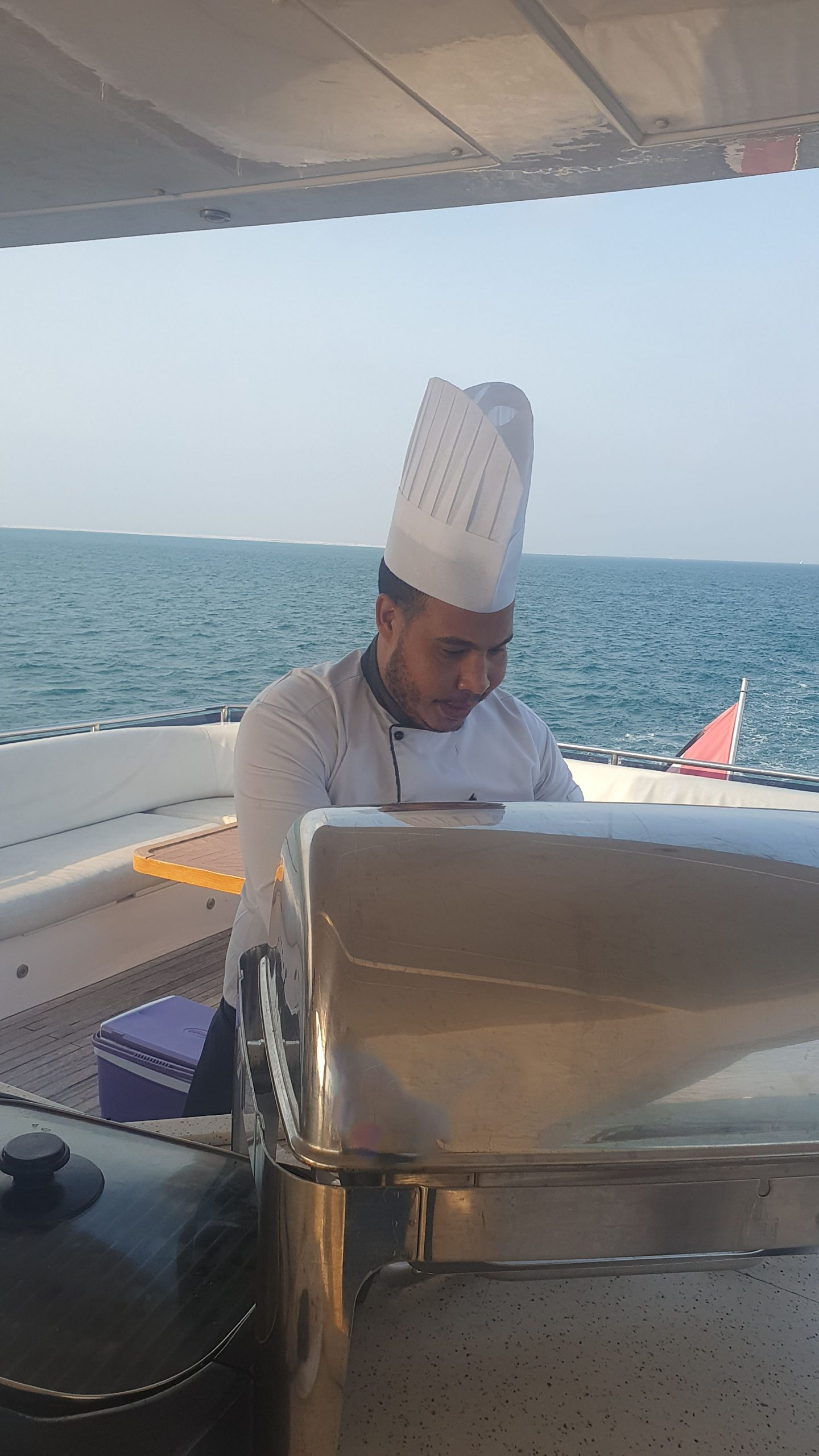 BBQ Yacht Live Chef